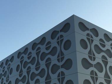 Pannello per facciata in metallo DESIGN PLANUM®