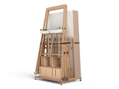 Modular office whiteboard DESIGN THINKING SET