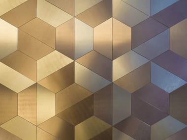 Indoor/outdoor Dvne® wall/floor sheets DESIGN TRAPEZIO