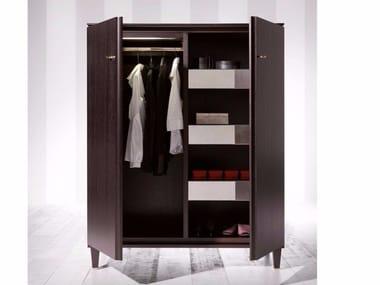 Low wooden wardrobe DESIRÉ | Wardrobe