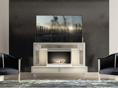 Lacquered motorized TV cabinet DESIRE LIFT