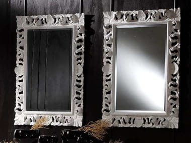 Wall-mounted framed mirror DESIREE | Mirror