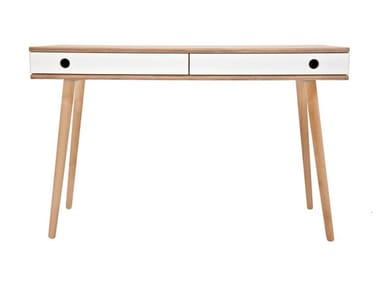Writing desk with drawers MAN | Writing desk