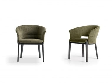Fabric easy chair with armrests DEVON | Easy chair