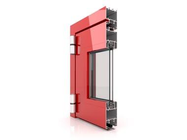 Aluminium casement window DF 600