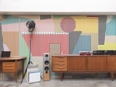 Non-woven paper wallpaper DIABOLO