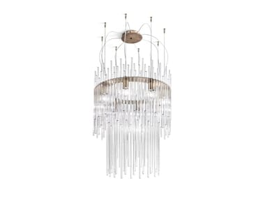 Glass chandelier DIADEMA SP 60