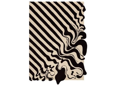 Handmade rug DIAGONAL MELT