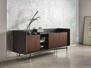 Wooden sideboard DIALOGO