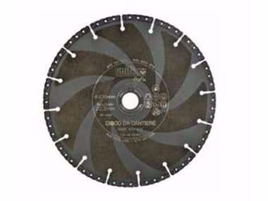 Disco diamantato da taglio DIAMANT DISCO DA CANTIERE