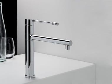 Single handle metal kitchen mixer tap DIAMETROTRENTACINQUE | Kitchen mixer tap
