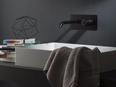 Wall-mounted washbasin mixer DIAMETRO35 | Washbasin mixer with plate