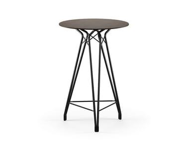 Round MDF high table DIAMOND BAR   MDF table