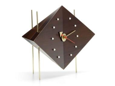 Orologio da tavolo in noce DIAMOND CLOCK
