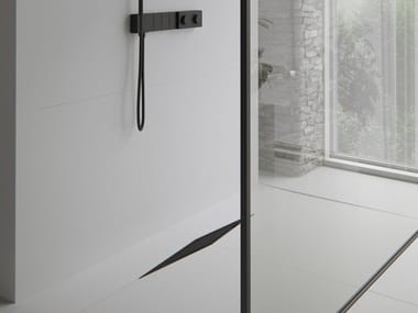 Stainless steel shower channel DIAMOND