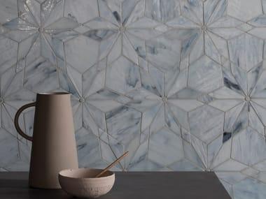 Cathedral glass mosaic DIAMOND