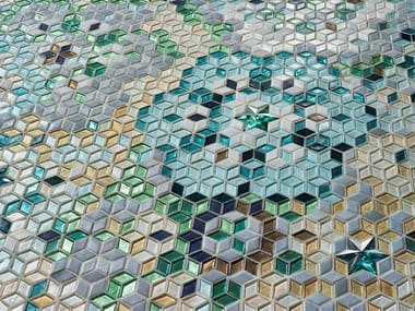 Glass mosaic DIAMOND