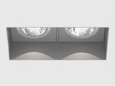 LED multiple recessed spotlight DICE CAVE DOUBLE