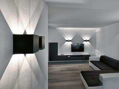 Lampada da parete a LED a luce diretta e indiretta DICE WALL