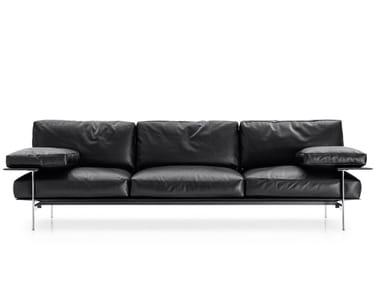 3 seater leather sofa DIESIS 40