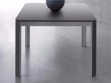 Tavolo allungabile quadrato in legno DIESIS