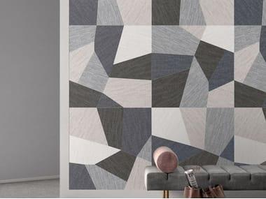 Pavimento/rivestimento in gres porcellanato effetto tessuto DIGITALART MIX