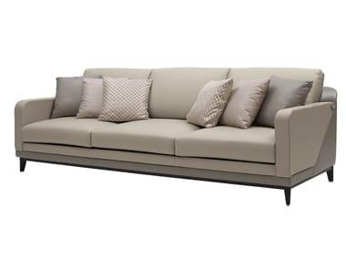 3 seater leather sofa DILAN   Sofa