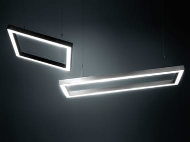 LED direct light aluminium pendant lamp DINAMICA Q