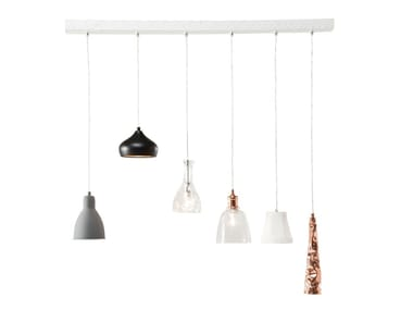 Contemporary style pendant lamp DINING 6-LITE