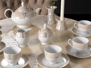Porcelain coffee set DINING A'ROUND | Coffee set