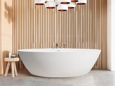 Oval Cristalplant® bathtub DIP TOO | Bathtub