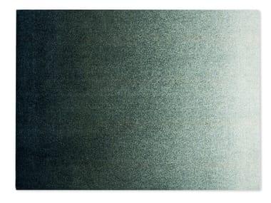 Rectangular recycled material rug DIS OCEAN
