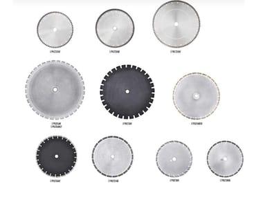 Dischi diamantati DISCHI DIAMANTATI SETTORI E TURBO (PER EDILIZIA, MARMO E GRANITO)