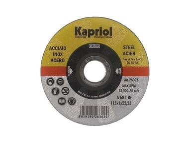 Dischi da taglio per materiali ferrosi DISCO DA TAGLIO ACCIAIO INOX