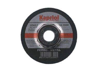 Dischi da taglio per materiali ferrosi DISCO DA TAGLIO FERRO