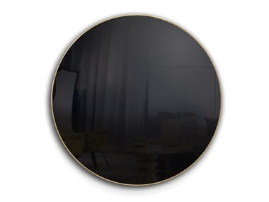 Round wall-mounted mirror with built-in speakers DISCO TV