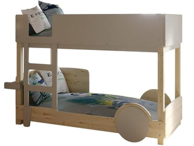 Wooden Kids bunk bed DISCOVERY CORALIE | Kids bunk bed