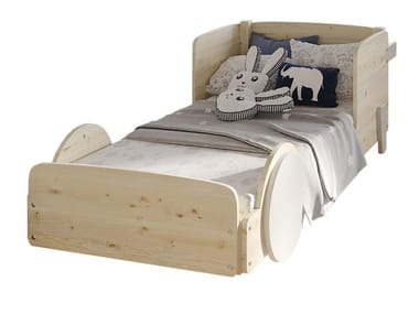 Wooden kids single bed DISCOVERY CORALIE | Kids single bed