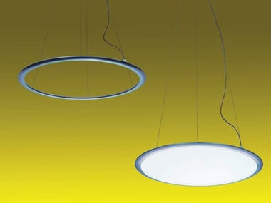 LED direct-indirect light aluminium pendant lamp DISCOVERY | Pendant lamp