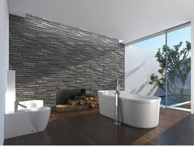 Indoor quarry wall tiles DISEGUAL