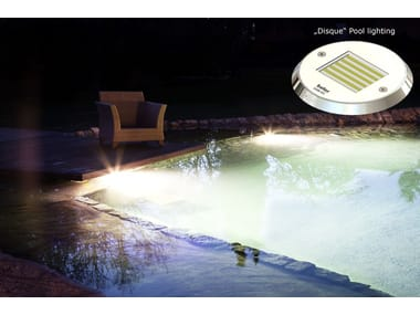 LED underwater lamp for swimming pools DISQUE