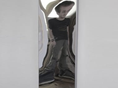 Rectangular wall-mounted mirror DISTORTING MIRROR | Rectangular mirror