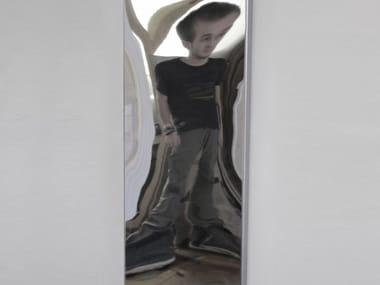 Rectangular wall-mounted mirror DISTORTING MIRROR   Rectangular mirror