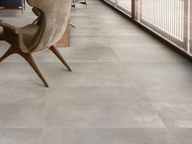 Pavimento/rivestimento antibatterico effetto cemento DISTRICT STREET