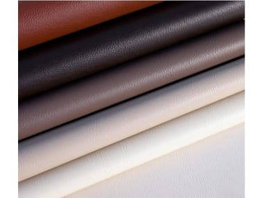 Solid-color fire retardant Eco-leather fabric DIVA