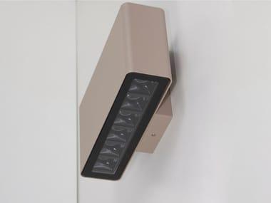 LED aluminium wall lamp DIVAR WALL DOUBLE SOFT
