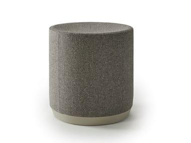 Round fabric pouf DIVIDUALS | Pouf