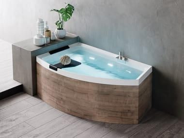 Corner asymmetric bathtub DIVINA O