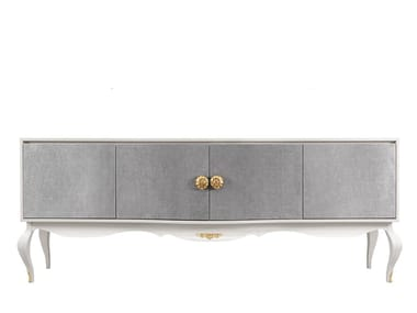 Lacquered sideboard with doors DIVINE | Sideboard