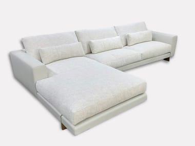 Sofá de tecido com chaise-longues DIVO   Sofá secional